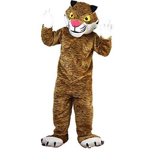 Langteng Tiger Cartoon Maskottchen Kostüm Echt Bild 15-20Tage Marke (Tiger Maskottchen Kostüm)