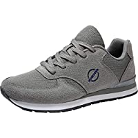 MOERDENG Walking Shoes for Womens Sports Fashion Slip on Sneakers Outdoor Running Fitness Jogging Athletic Road Casual Footwear,Dark Grey,Size:US 6.5/EU 37