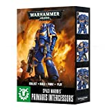 Games Workshop 99120101182 Warhammer 40,000 facile da costruire Space marine Primaris Intercessors 3 cifre Game