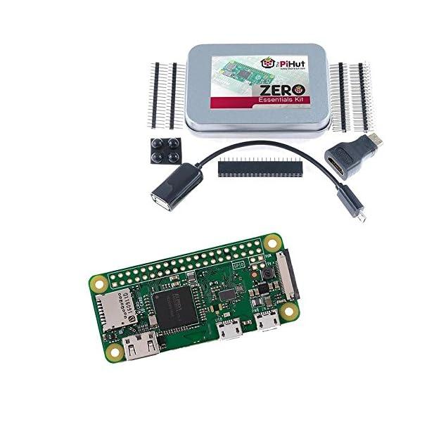 51g1bUTY%2BDL. SS600  - The PiHut Zero Essentials Kit - Kit para Raspberry Pi Zero W (Wifi)