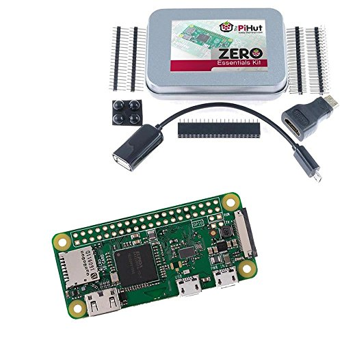 Preisvergleich Produktbild Raspberry Pi Zero W (Wireless) & Zero Essentials Kit