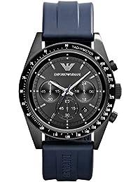 Emporio Armani AR-reloj cronógrafo de cuarzo caucho AR6113