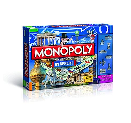 Winning Moves 43485 - Monopoly Berlin (Deutsch / Englisch) - Neuauflage 2015