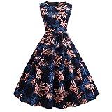 ITISME Damen sexy v-Ausschnitt Partykleid Abendkleider Cocktailkleid Elegant 1/2 arm Casual klassischer Stil Kleid lang,S-3XL