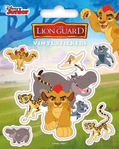 Pyramid International The Lion Guard (Zeichen) Vinyl Aufkleber, Papier, mehrfarbig, 10x 12,5x 1,3cm