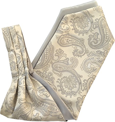 Great British Tie Club Satin Paisley Motif Cachemire Cravate Ascot (Diverses Couleurs)