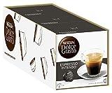 NESCAFÉ Dolce Gusto Espresso Intenso | Kaffeekapseln | Arabica und Robusta Bohnen | Geschmack roter Sommerbeeren und rosa Pfefferbeeren | Aromaversiegelte Kapseln | 3er Pack (48 Kapseln) 384g