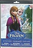 Disney Frozen (Eiskönigin) - Haut Tattoo - insgesamt 50 Motive auf 6 verschiedenen Bogen