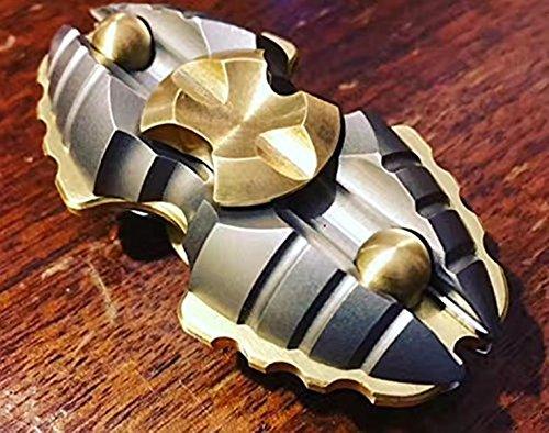Preisvergleich Produktbild Kadcope Light Fidget Hand Spinner Torqbar Finger Toy EDC Focus Gyro Fast Shipping