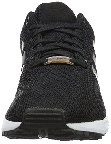 adidas ZX Flux, Baskets Basses Mixte Adulte Noir (Core Black/core Black/ftwr White)
