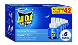 #5: All Out Ultra Clear Refill Saver (270ml, Pack of 6)