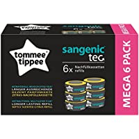 Tommee Tippee Sangenic Refill Cassettes Sangenic Tec 6Pack White One Size