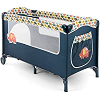 Milly Mally Mirage Elephant Cama de viaje, multicolor