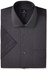 Van Heusen Mens Business Shirts (8907522456556_VHSH1M76827_40_Black)
