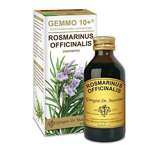 Dr. Giorgini Integratore Alimentare, Rosmarino Gemmoderivato Concentrato Liquido Analcoolico - 100 ml