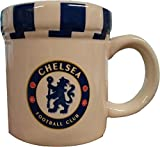 Chelsea FC Keramik-Tasse Streifenschal-Design