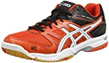 ASICS Gel-Rocket 7, Herren Volleyballschuhe, Rot (Cherry Tomato/White/Black 2101), 47 EU