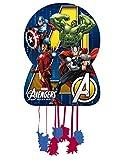 Los Vengadores - Piñata silueta, 46x65 cm para cumpleaños y cel