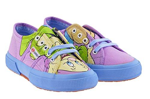 Superga Disney Kid Chiot Baskets Basses Neuf Tail.