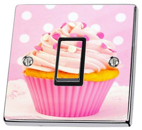 sticker-en-vinyle-pour-interrupteur-motif-cup-cake-rose