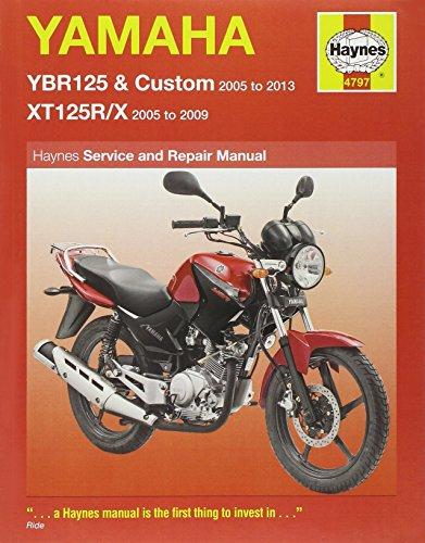 Yamaha YBR125 & XT125R/X Service and Repair Manual (Haynes Service and Repair Manuals)
