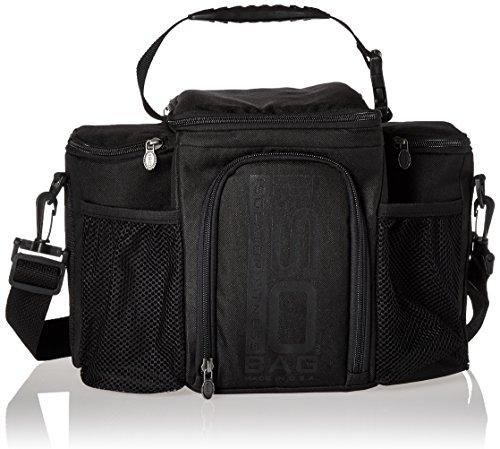 Isobag 3 Mahlzeiten Management System / Blackout Edition - Isolator Fitness / Isolierte Mahlzeiten-Kühltasche