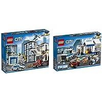 Pack LEGO - City - Le Commissariat de Police et Le Poste de Commandement Mobile
