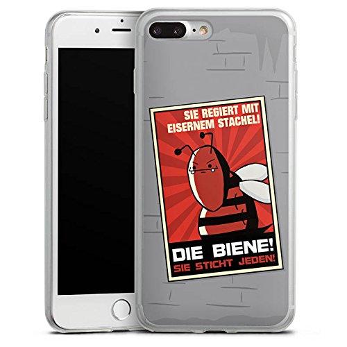 Apple iPhone 8 Slim Case Silikon Hülle Schutzhülle DirtyWhitePaint Fanartikel Merchandise Poster Propaganda Silikon Slim Case transparent