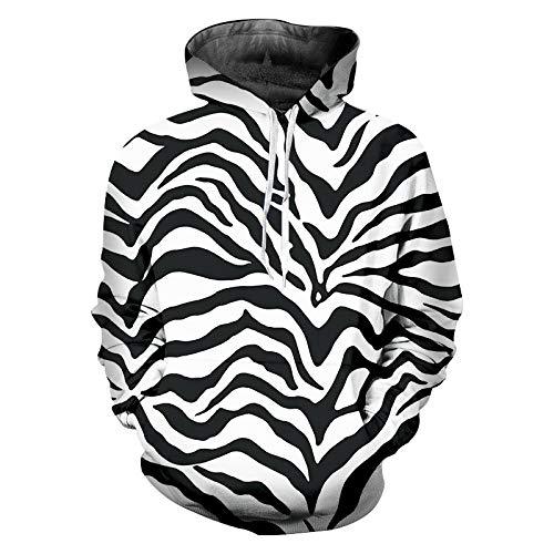 Kostüm Männer Frauen Versuchen - YHWYMXZ Hoodies Sweatshirts Hooded Stripes 3D Hoodies Gedruckt Plus Size Kostüm Männer Frauen Winter Hoodie