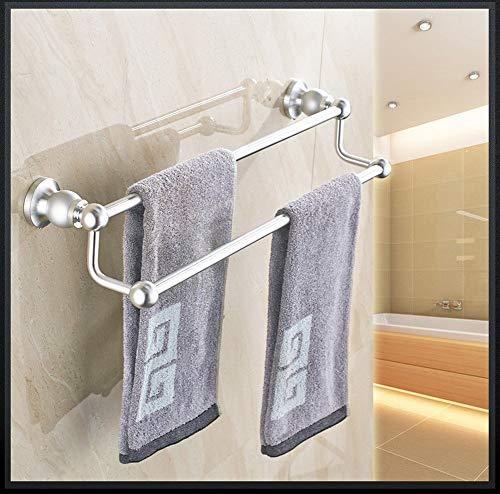 SCJS 24 in Turm Kleiderbügel Nickel gebürstet Doppelhebel Badezimmer Dusche Organisation Badewanne Handtuchhalter Halter Anwendbares Hotel -