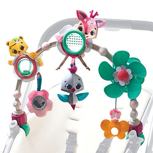 Tiny Love - Spielbogen Sunny Stroll - Tiny Princess Tales, mit Rasselspielzeug, nutzbar ab der Geburt (0M+), universelle Befestigung passend für fast alle Tragetaschen, Babyschalen oder Kinderwagen