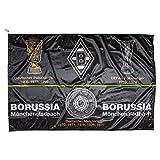 Borussia Mönchengladbach Hissfahne Fahne 150x100cm (one Size, Erfolge)