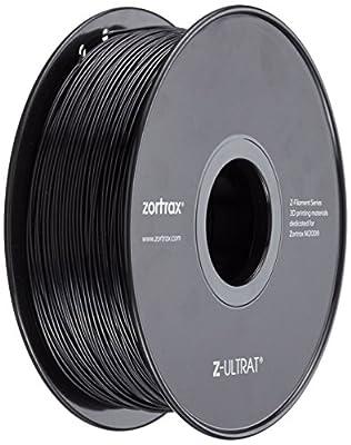 Zotrax 10546 Z-ULTRAT Filament, 1.75 mm, 800 g, Pure Black