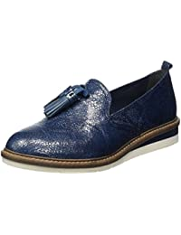 Womens 24605 Loafers, Blue, 7 UK Tamaris