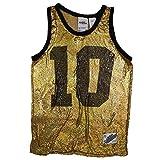 adidas Originals by Jeremy Scott Damen Metal Mesh Shirt Tank Top Gold, Größe:36, Farbe:Gold