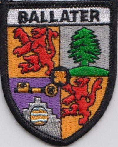 Distintivo bordado con la bandera de Aberdeenshire segunda mano  Se entrega en toda España