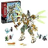 LEGO®-NINJAGO® Le robot Titan de Lloyd Jeu pour Enfant 9 Ans et Plus, Briques de Construction Garçon et Fille, 876 Pièces 70676