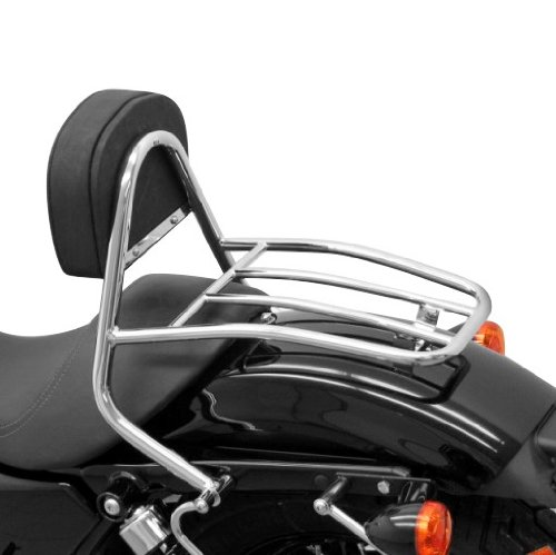 Sissy Bar + porte paquet Fehling Harley Davidson Sportster 1200 Custom (XL 1200 C) 04-18