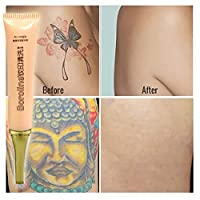 NEWLUK Permanent Tattoo Removal Cream No Need For Pain Removal Maximum Strength Skin Tattoo Cleaning (GOLD-2PCS)