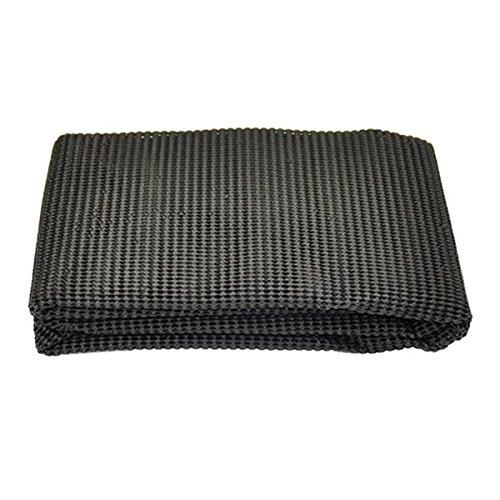 Antirutschmatte Kofferraumteppich Haftmatte Matte Teppich 120 x 100 cm zuschneidbar für Auto Wohnwagen Boot Dusche Wanne Kofferraum Haushalt KFZ Auto PKW - schwarz