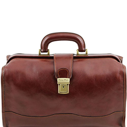 Tuscany Leather - Raffaello - Borsa medico in pelle Miele - TL10077/3 Marrone