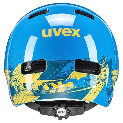 Uvex Kinder Fahrradhelm Kid 3, Blackout Blue, 51-55, 4148190715 - 2
