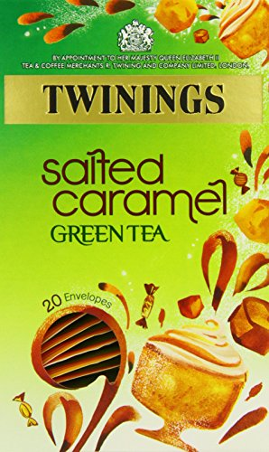 Twinings Salted Caramel Green Tea 20 Envelopes (Pack of 4)