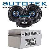 Renault Laguna 2 - Lautsprecher Boxen Autotek ATX-52 | 2-Wege 13cm Koax Lautsprecher 165mm Auto Einbauzubehör - Einbauset