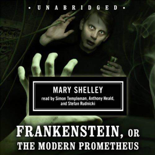 Frankenstein, or The Modern Prometheus  Audiolibri