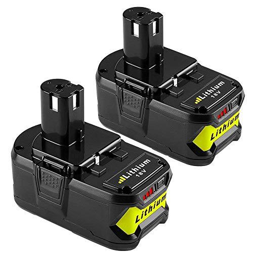 【2 Paquetes】Powayup RB18L40 18V 4.0Ah Li-ion Batería