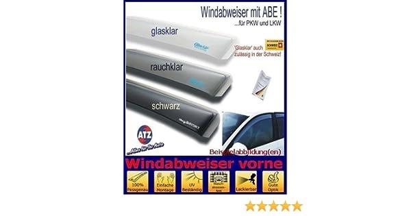 ClimAir Windabweiser vorne mit ABE Farbausf/ührung: rauchklar 03-3556