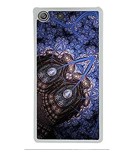 ifasho Designer Phone Back Case Cover Sony Xperia M5 Dual :: Sony Xperia M5 E5633 E5643 E5663 ( Green Owl Rajasthani )