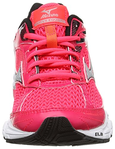 Mizuno Wave Equate (W), Scarpe da Corsa Donna Rosa (Diva Pink/silver/dark Shadow)