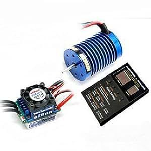 RC Car Parts - HobbyWing EZRUN 13T 3000kv Brushless motor +35A V2.0 ESC +P Card Combo